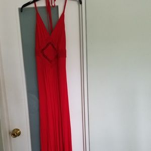 Forever 21 Red Maxi Dress NWOT